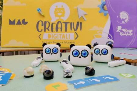 Borgo Bambino, Creativi digitali