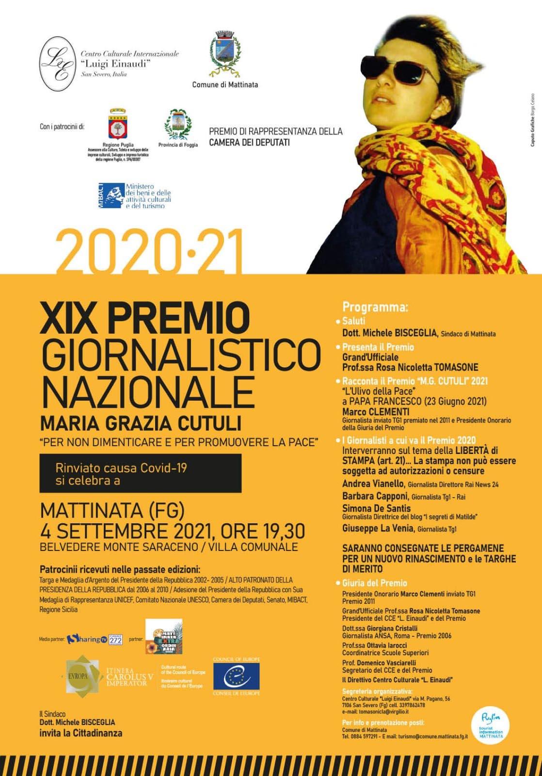 Premio giornalistico nazionale Maria Grazia Cutuli