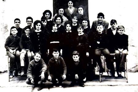 1961, primo anno di scuola media inferiore